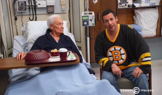 Happy Gilmore's Adam Sandler and Bob Barker Reunite For Night of Too Many Stars