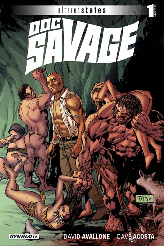 Altered States: Doc Savage cover
