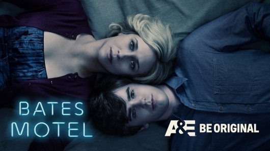 Bates Motel A&E Be Original poster