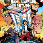 Bill & Ted's Most Triumphant Return #1 cover A Boom Studios