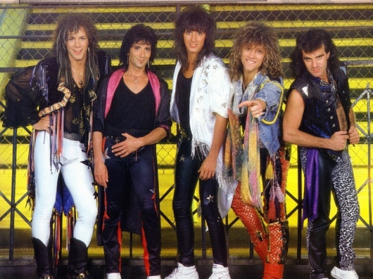 Bon Jovi Band Photo