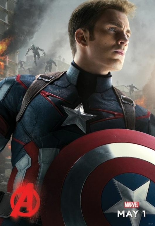 Avengers: Age of Ultron Captain America Poster