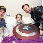 Chris Pratt and Chris Evans Captain America Seattle Children's Hospital