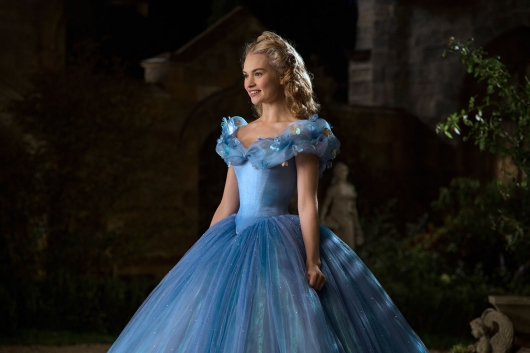 Disney's Cinderella live-action film 2015 Lily James