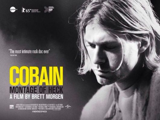 Kurt Cobain Montage Of Heck Documentary banner