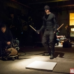 Marvel's Daredevil Daredevil (Charlie Cox) behind the scenes