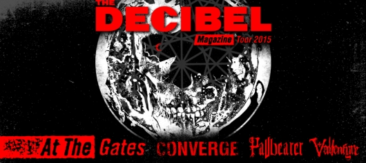 Decibel Magazine Tour Poster At The Gates
