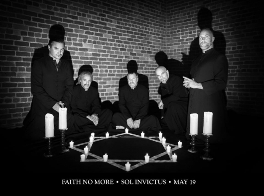 Faith No More Sol Invictus bw promo