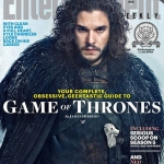 Game Of Thrones Season 5 EW cover Jon Snow