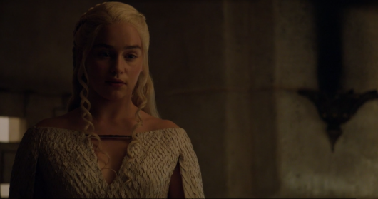 Game Of Thrones Season 5  Daenerys Targaryen (Emilia Clarke) HBO NOW