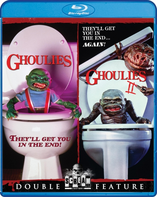 Ghoulies Double Feature Blu-ray