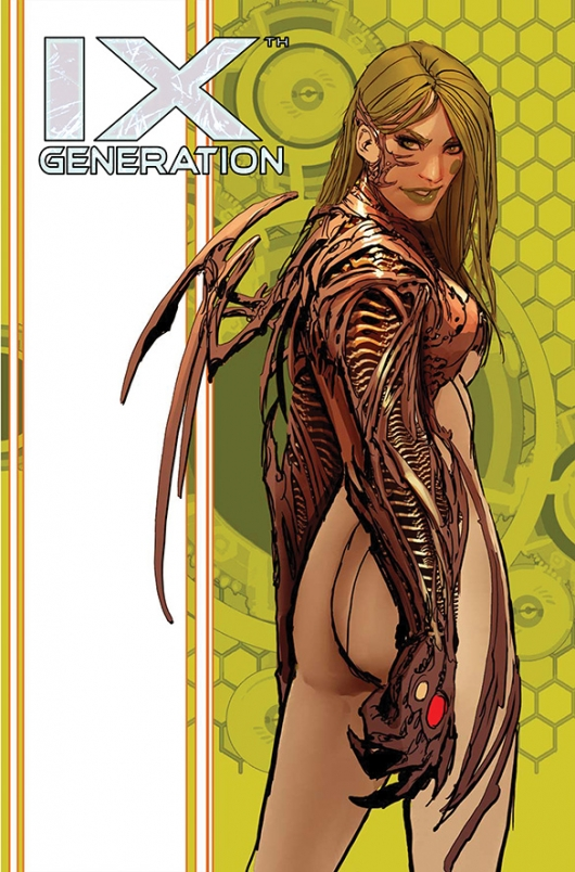 IXth Generation #3 standard cover by Stjepan Sejic Top Cow