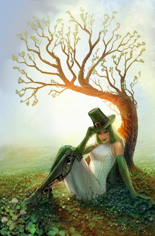 IXth Generation #3 cover variant by Linda Sejic