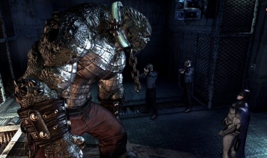 Killer Croc in Batman: Arkham Asylum