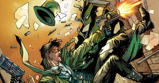 Legenderry: Green Hornet #2 review