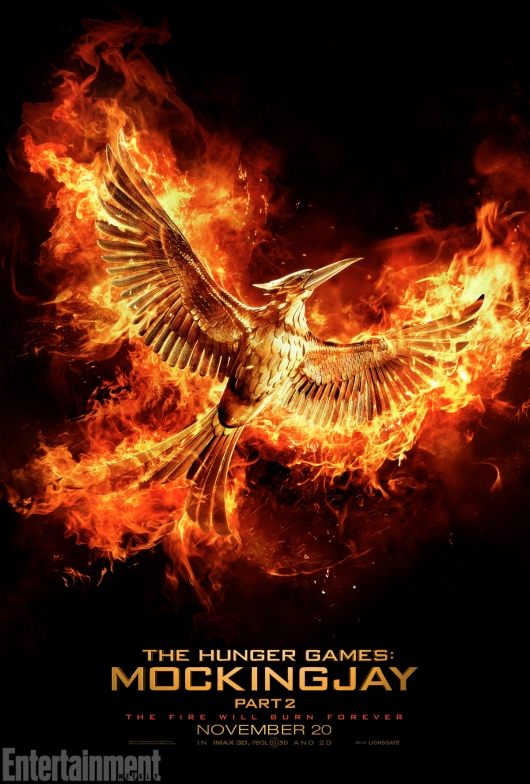 The Hunger Games: Mockingjay Part 2 Teaser Poster