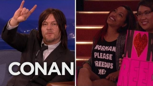 The Walking Dead star Norman Reedus on Conan