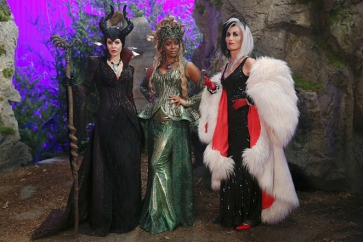 Once Upon a Time Ursula Cruella Malificent