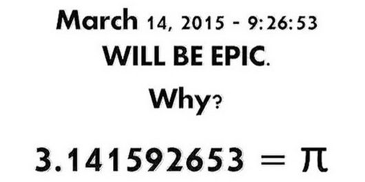 Pi Day 2015 epic