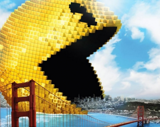 Pixels Movie Pac-Man