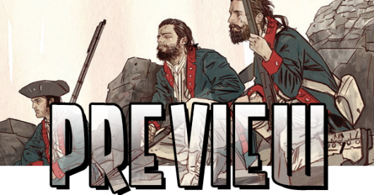 Brian Wood's Rebels #1 preview