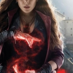 Scarlet Witch Avengers Age Of Ultron Character poster