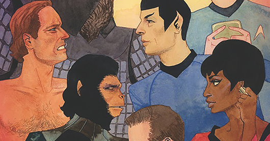 Star Trek/Planet of the Apes #3 review
