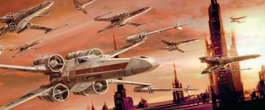 Star Wars Rogue Squadron fighters