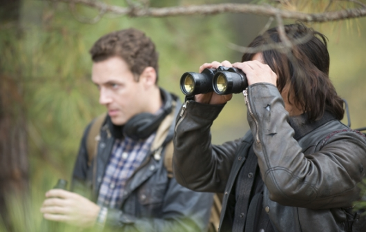 The Walking Dead Episode 516 Conquer Walking Dead Season 5 finale Aaron and Daryl