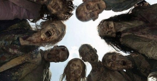 The Walking Dead Zombie Circle Blu-ray Releases