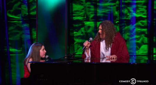 "Weird Al performs ""Yoda"" With 13-Year-Old autistic girl Jodi DiPiazza At Night of Too Many Stars"