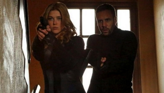 Agents of S.H.I.E.L.D. Spinoff Adrianne Palicki and Nick Blood