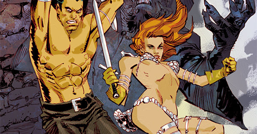 Conan/Red Sonja #4 review