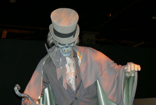 Haunted Mansion Hatbox Ghost at Disney D23 Expo 2013 (Photo by Brett Nachman)