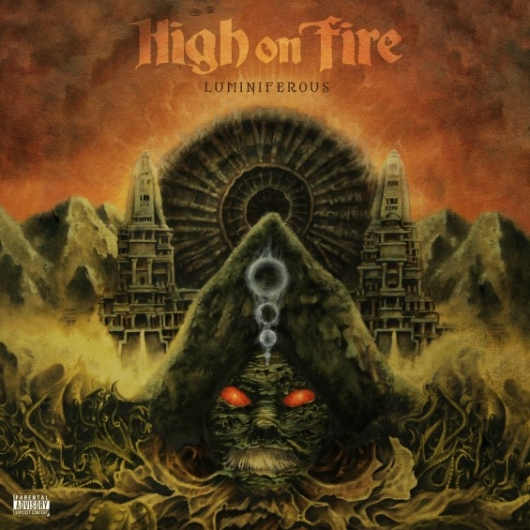 High On Fire Luminiferous Album Cover ArtA