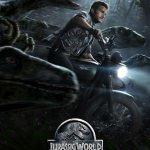 Jurassic World Chris Pratt poster