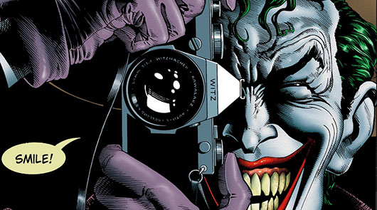 The Killing Joke Header - Jared Leto to play the Joker in Suicide Squad