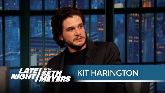 Late Night With Seth Meyers Kit Harington