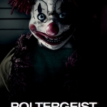 Poltergeist clown movie poster 2015