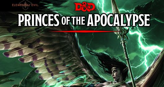 Dungeons & Dragons Princes Of The Apocalypse Header
