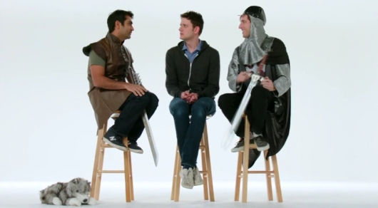 Silicon Valley Stars Thomas Middleditch, Kumail Nanjiani, and Zach Woods Talk Game of Thrones