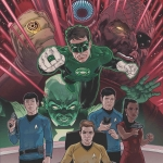 "Star Trek/Green Lantern"" The Spectrum War by Gabriel Rodriguez"