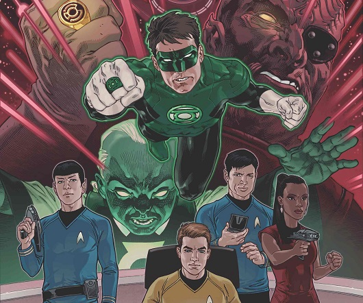 Star Trek/Green Lantern: The Spectrum War banner