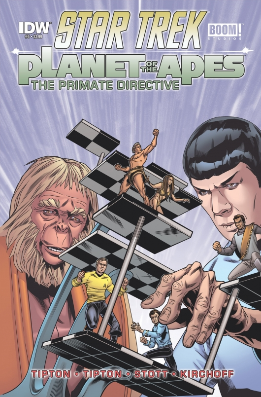 Star Trek/Planet of the Apes #3 cover