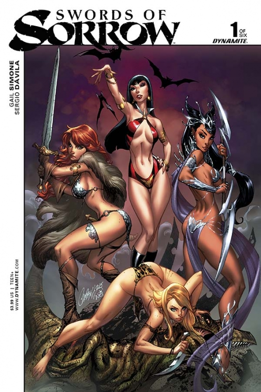 Swords of Sorrow #1 cover