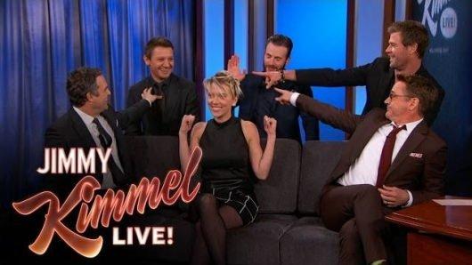 The Avengers Jimmy Kimmel Live