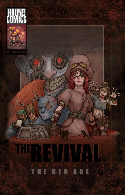 The Revival #1 cover