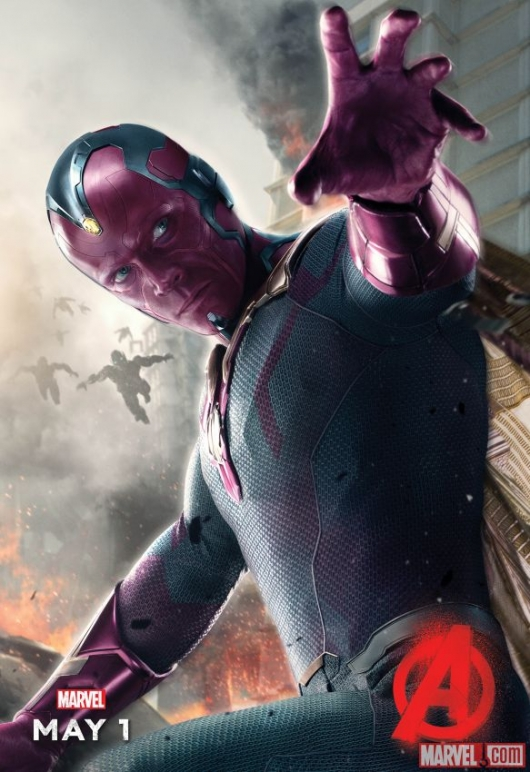 �avengers age of ultron� the vision finally gets his