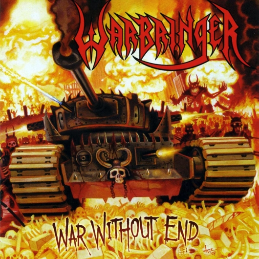 Warbringer War Without End Album Cover
