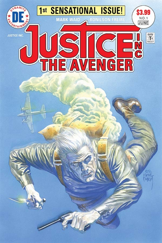 Justice, Inc.: The Avenger #1 cover